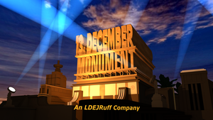 13th December Monument Productions logo by LDEJRuff