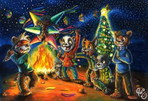 Christmas 2013 by pandapaco