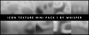 Icon Textures Mini Pack 1 by Whisper-Voo