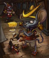 Mouse SAMURAI by jordan659323