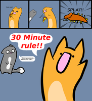 Artblockcomic, No. 03: 30 minute... rule? by Tontora