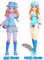 Illia - my trainer OC by haoLink