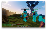 Minecraft plumisland raid! by darkangelkiss