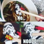 Chopstick Trooper by Carmine777
