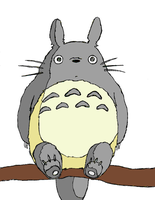Totoro by 5linc3