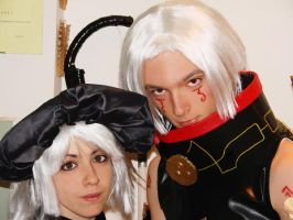 Haseo e Shino-Dothack Cosplay by AuRa90