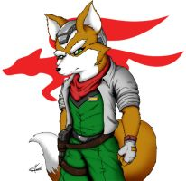 Fox McCloud by ShinFox
