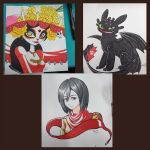 Original Marker Pieces 1 by Paper-Rabbit