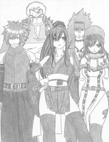 New Team Fairy Tail by KurohikoKazuha