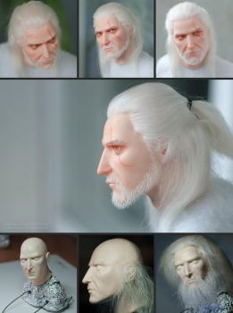 Geralt of Rivia by Zheltkevich