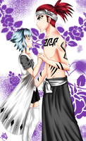 :Com: Renji and Hyou by SuzumeNekoChan