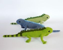 Iguanas by LunasCrafts