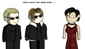 Leon Joins the Dark Side by GieGie