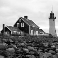 Scituate Lighthouse by marisamudd