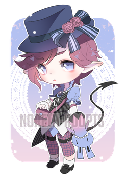 Puppeteer Demon 11 Adopt AUCTION - CLOSED by Noreth-Adopts