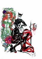Gotham Sirens by Humanis