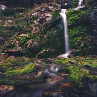 Waterfall and around by voldemometr