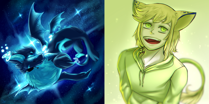 [Contest Prizes] Space waste / green child by LillyCheese