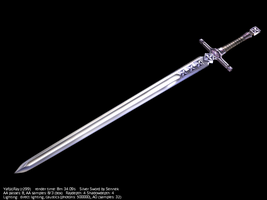 Silver sword by Sennek