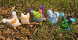 Owlets Plush by Lithe-Fider