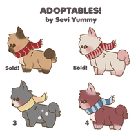 Adoptables! OPEN by SeviYummy