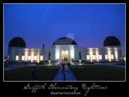 Griffith Observatory Nighttime by zerisse