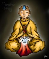 Avatar Aang by Esperta