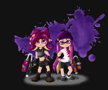 Splatastic duo by Rameslack