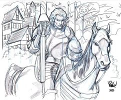 A KNIGHT'S TALE by Wieringo