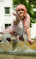 Final Fantasy XIII - Serah Farron Cosplay by pure-faces