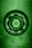 Iron Man Green Lantern Arc Reactor background by KalEl7