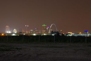 Night in St. Louis by VincentGiglio