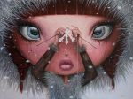 You'll Never Melt Again on Me - oil painting by borda