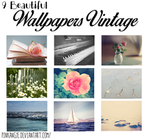 9 Beautiful Wallpapers Vintage -Angie by pinkangie
