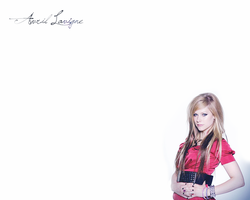 Avril Lavigne Wall III by MartyPunk13