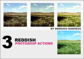 Red photoshop actions by demonic-madness