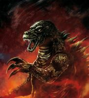 Godzilla King of the Monsters by MarcoPagnotta