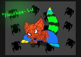 :AT: Spider-kat by Cibibot
