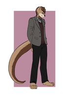 Dapper Oswald -- by Wolframkyo by underclocked