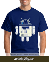 Android Logo Tee: R2D2 by DesignBomb
