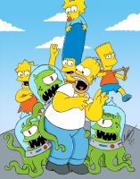 Los Simpsons by IronHard