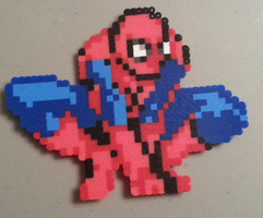 Perler Spiderman by DuctileCreations