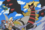 Vs Giratina by threeQuestions