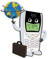 World travel phone by space-for-thought