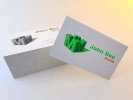 Media Business Card by Freshbusinesscards
