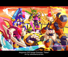 Megaman ZX3 Image Cutscene: Taken by ultimatemaverickx