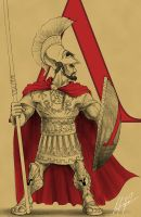 Spartan Hoplite by thurinus