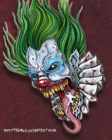 Demon Clown by scottkaiser