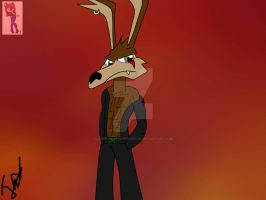 Chet Coyote by superpinathehedgehog