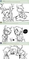 Ask Fionna and Marshall -2 page- by Zllm